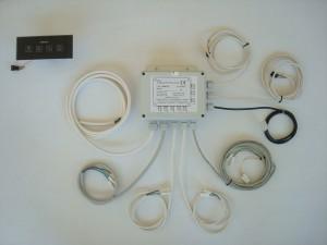 Box Plus con cromoterapia e touch AES